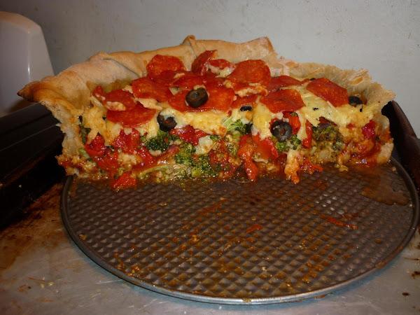 Homemade Mountain Pie Pizza Recipe