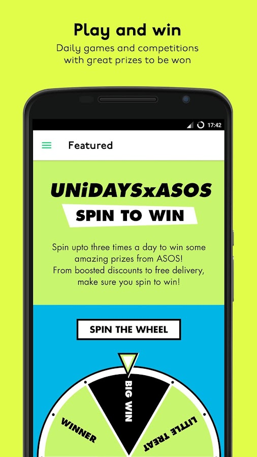 UNiDAYS: Student Perks & Deals- screenshot