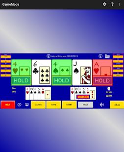 Video poker perfect strategy