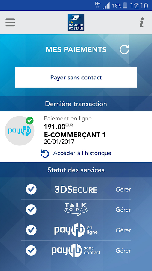 Populaire Mes Paiements - Android Apps on Google Play QF88
