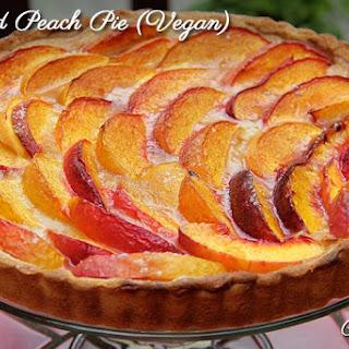 Orchard Peach Pie (Vegan)