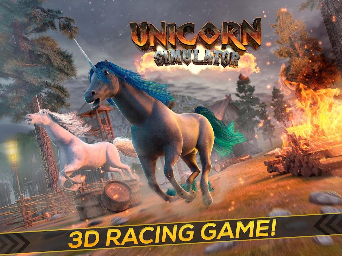 unicorn simulator 2017 android apps on google play