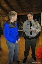 Photo: Rhonda and Park Supervisor Scott
