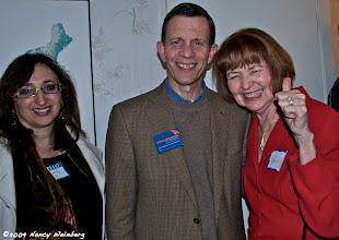 Photo: Beverly Hugo, Steve Grossman, Carmen Chico