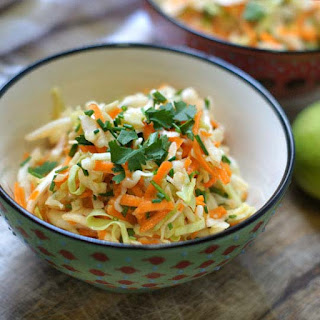 Sweet Sesame-Lime Cabbage Salad.