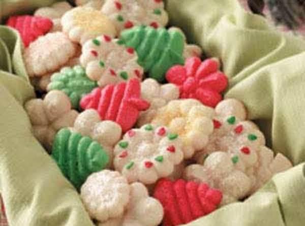 Best Ever Spritz Cookies Recipe