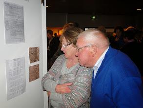 Photo: Areke en Fred Schampaert (Areke haar moeder was dienstmeisje bij Jeanette van Straten)