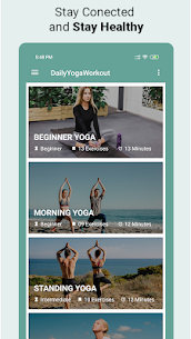 Daily Yoga Workout – Daily Yoga Apk  Download For Android 1