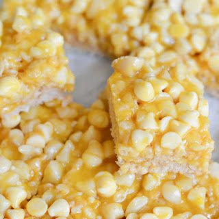 Hawaiian Rice Krispie Treats