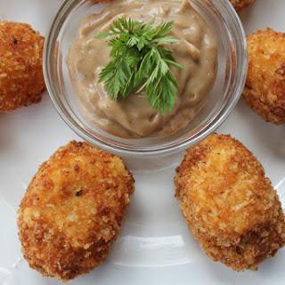 Potato Tots with Malt Vinegar Aioli Recipe