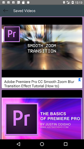 Learn Adobe Premiere Pro Video Lectures 1.6 Apk for Android 4