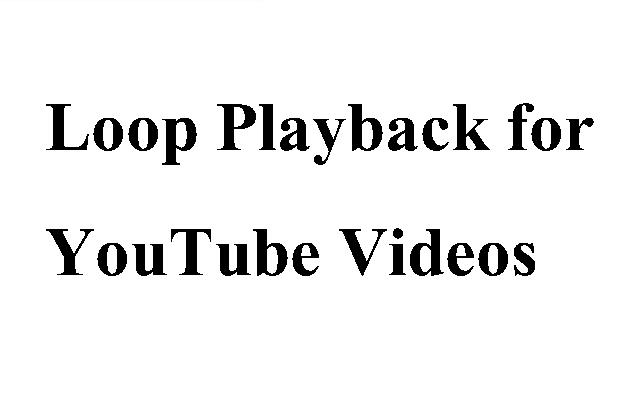 YouTube Looper