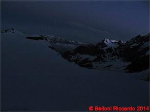 Photo: Ric_IMG_3494 prime luci verso il Bernina