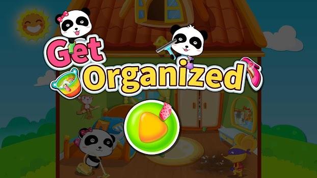 Baby Panda Gets Organized