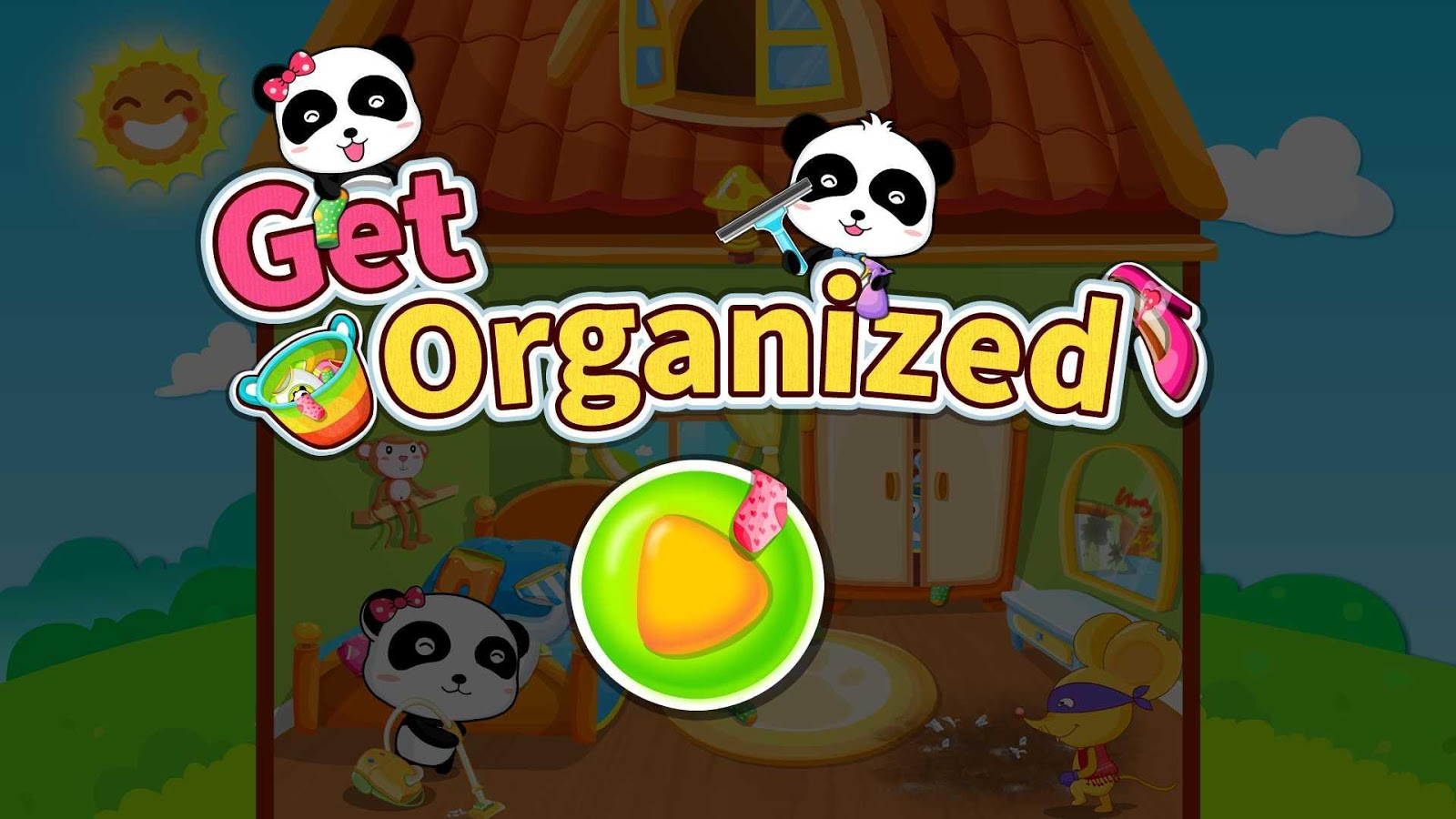 Baby Panda Gets Organized- screenshot