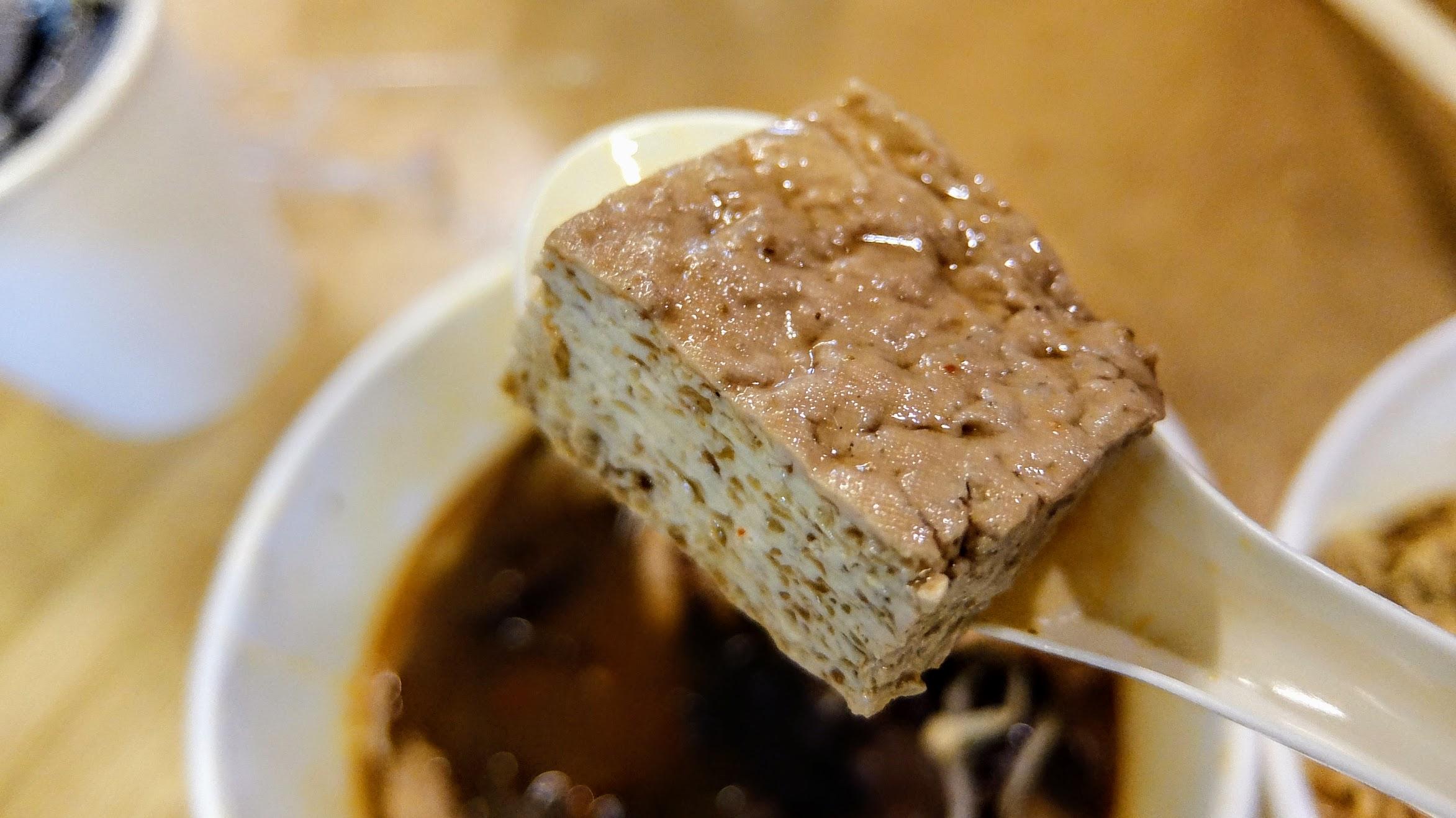 臭豆腐部分反而普通點XD
