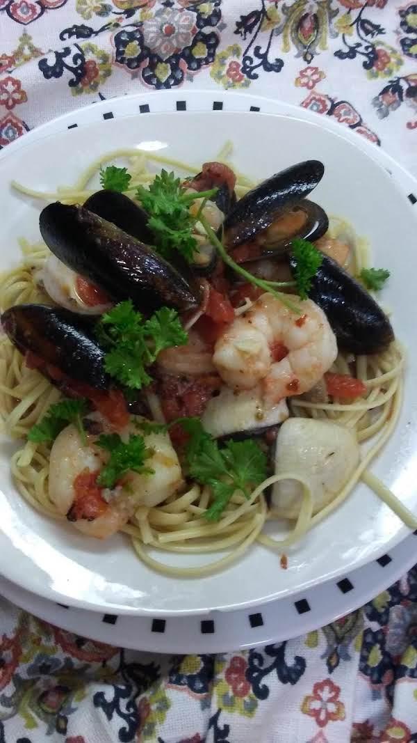 Seafood Linguini Recipe