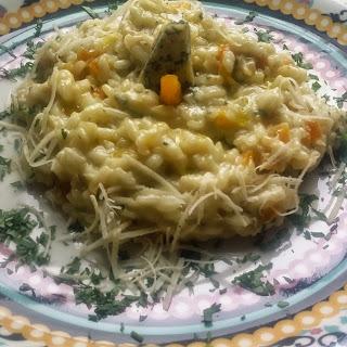 Risotto With Gorgonzola Apricots