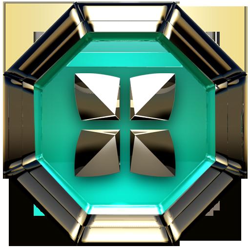 TRIQUA Next Launcher 3D Theme