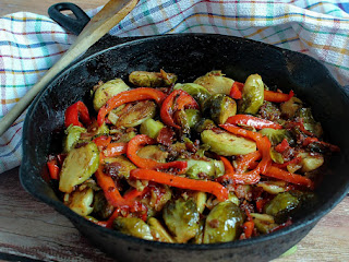Mellina's Smokin' Brussels Sprouts Recipe