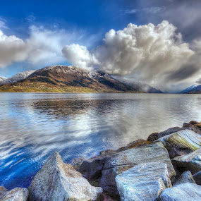 Changes in the weather by Sigbjørn Fjellheim - Landscapes Cloud Formations ( hardanger )
