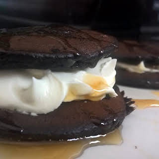 Paleo Chocolate Avocado Pancakes (Oreo and peanut butter cup versions too!).