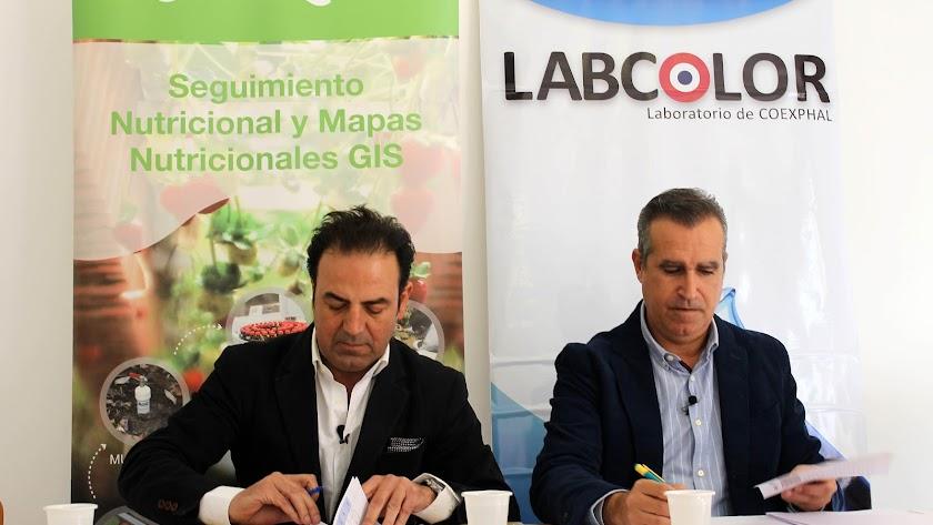 Firma de los representantes de ambas entidades