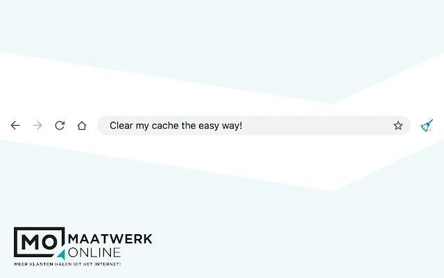 Maatwerk Online Clear Cache