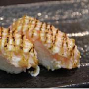 Aburi Salmon Teriyaki Nigiri