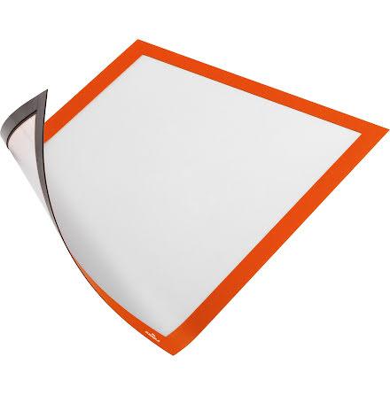 Duraframe Magnet A4 orange 5fp