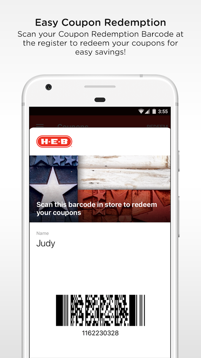 H-E-B Android 3