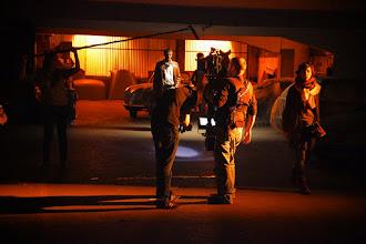 Photo: Le Steadicam en action, avec Yann au point à f/1.3 ! Bravo à lui !
