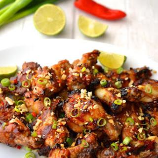 Sticky Honey & Ginger Chicken Wings.