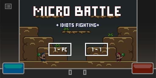Micro Battle - 2 PLAYER FIGHTING  captures d'écran 1