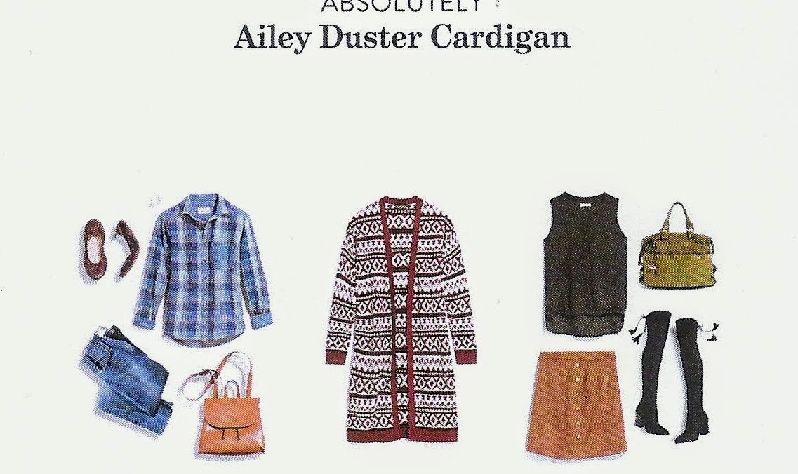 Stitch Fix Winter 2018 box review, Absolutely Ailey Duster Cardigan
