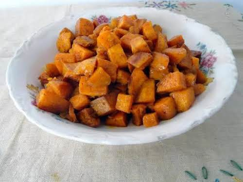 "Roasted Sweet Potatoes ""A revised approach to an old traditional favorite, sweet..."