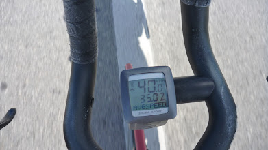 Photo: Along these nearly 60 km my average was actually around 40 km/h