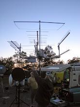 Photo: WA3PTV/R antennas