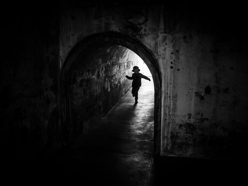 Correndo verso l'oscurità di Canguro