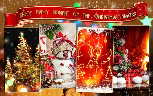 Christmas Magic ud83cudf1f Live Wallpapers Xmas 2019 2.4 screenshots 9