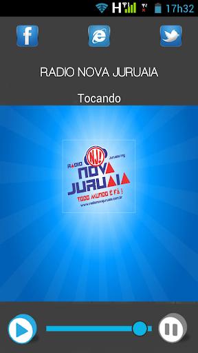 Rádio Nova Juruaia screenshot 1