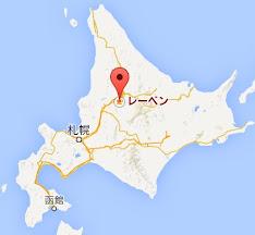 地図:珈琲専科 レーベン(LEBEN)