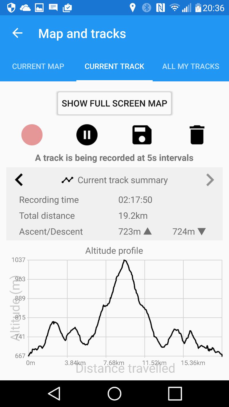 ActiMap - Outdoor maps & GPS Screenshot 3