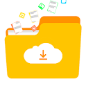 File Manager with Cloud Storage icon