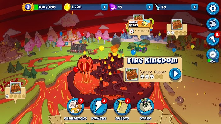 Bloons Adventure Time TD Screenshot Image