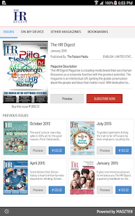 The HR Digest- screenshot thumbnail