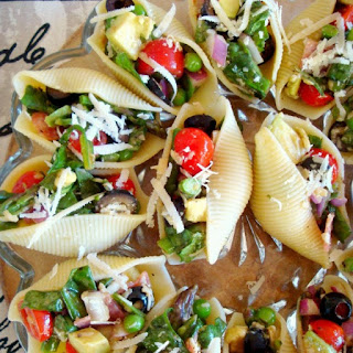 Salad Stuffed Shells