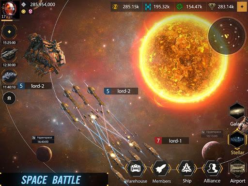 Infinite Galaxy - Empire, starcraft, sci fi, mmo apkpoly screenshots 9