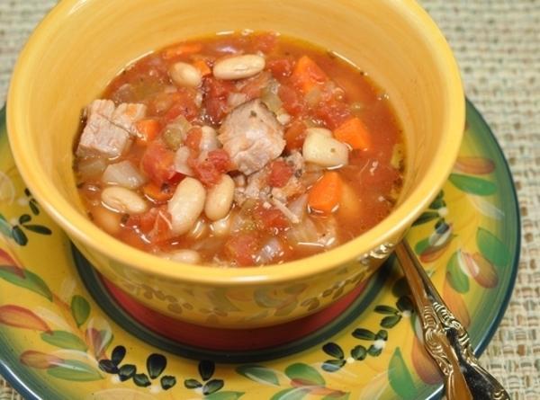 Tuscan Pork And Bean Soup Recipe
