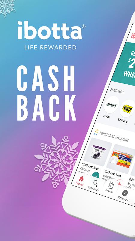 Ibotta: Cash Back Savings, Rewards & Coupons App APK 5 5 21
